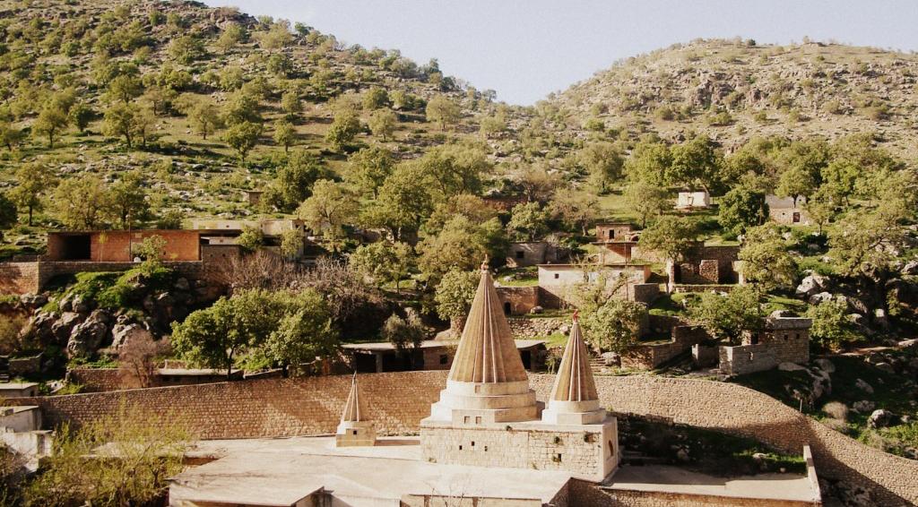 Zentrales Heiligtum der Êzîden Laliş